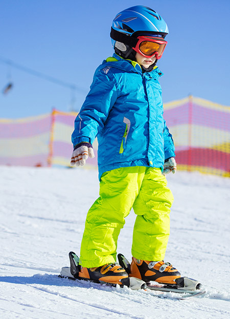Clases de esquí para niños/as